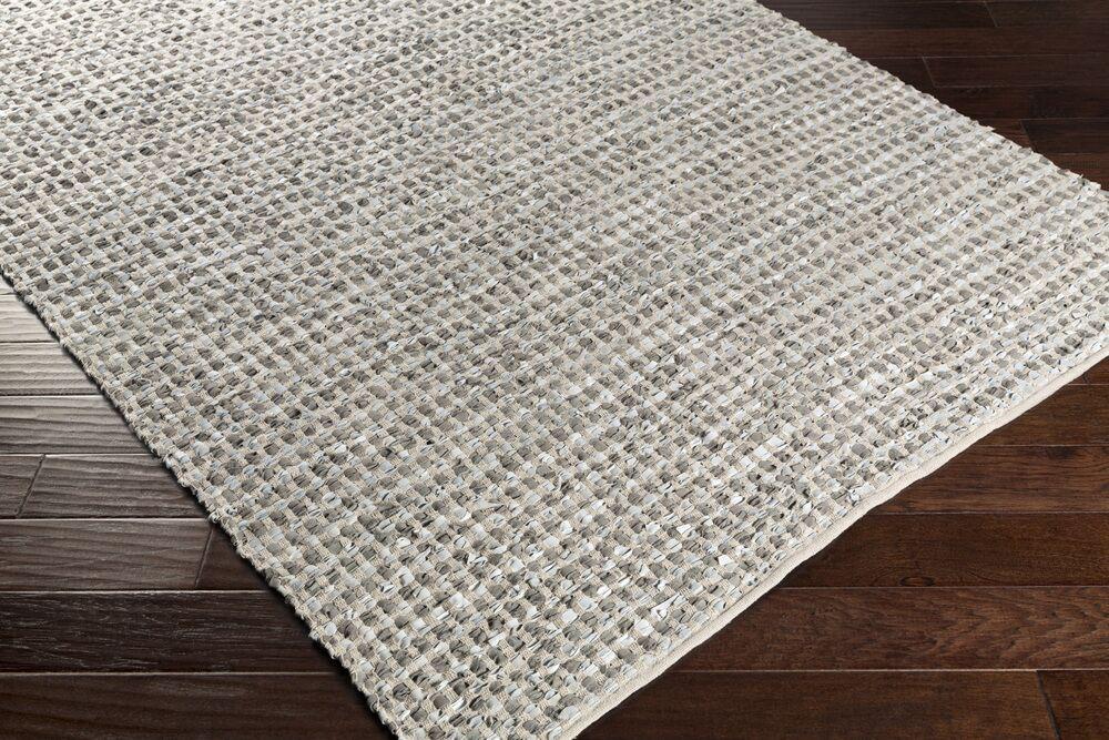 Laflin Hand-Woven Gray Area Rug Rug Size: Runner 2'6