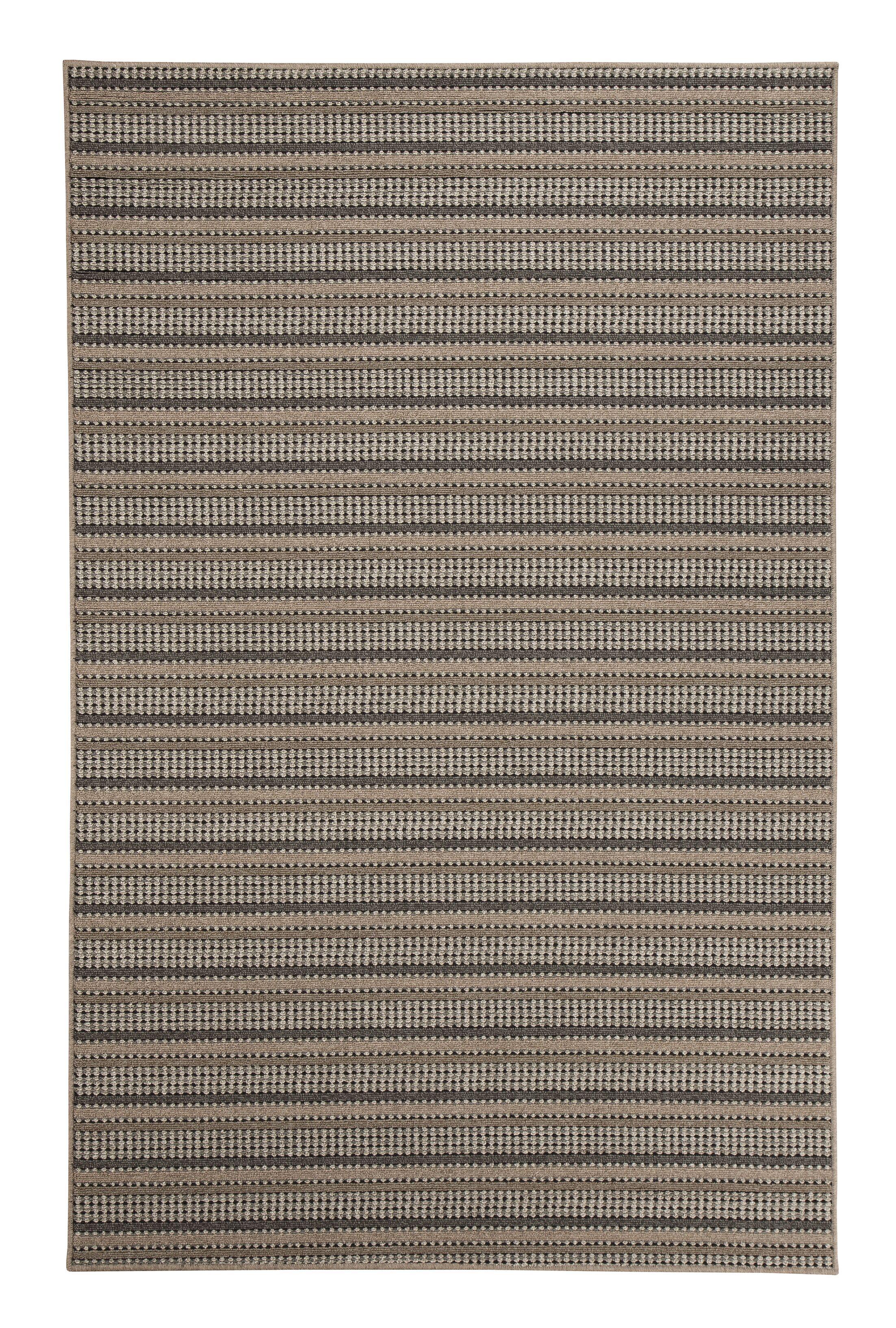 Britton Brown Indoor/Outdoor Area Rug Rug Size: 5' x 7'