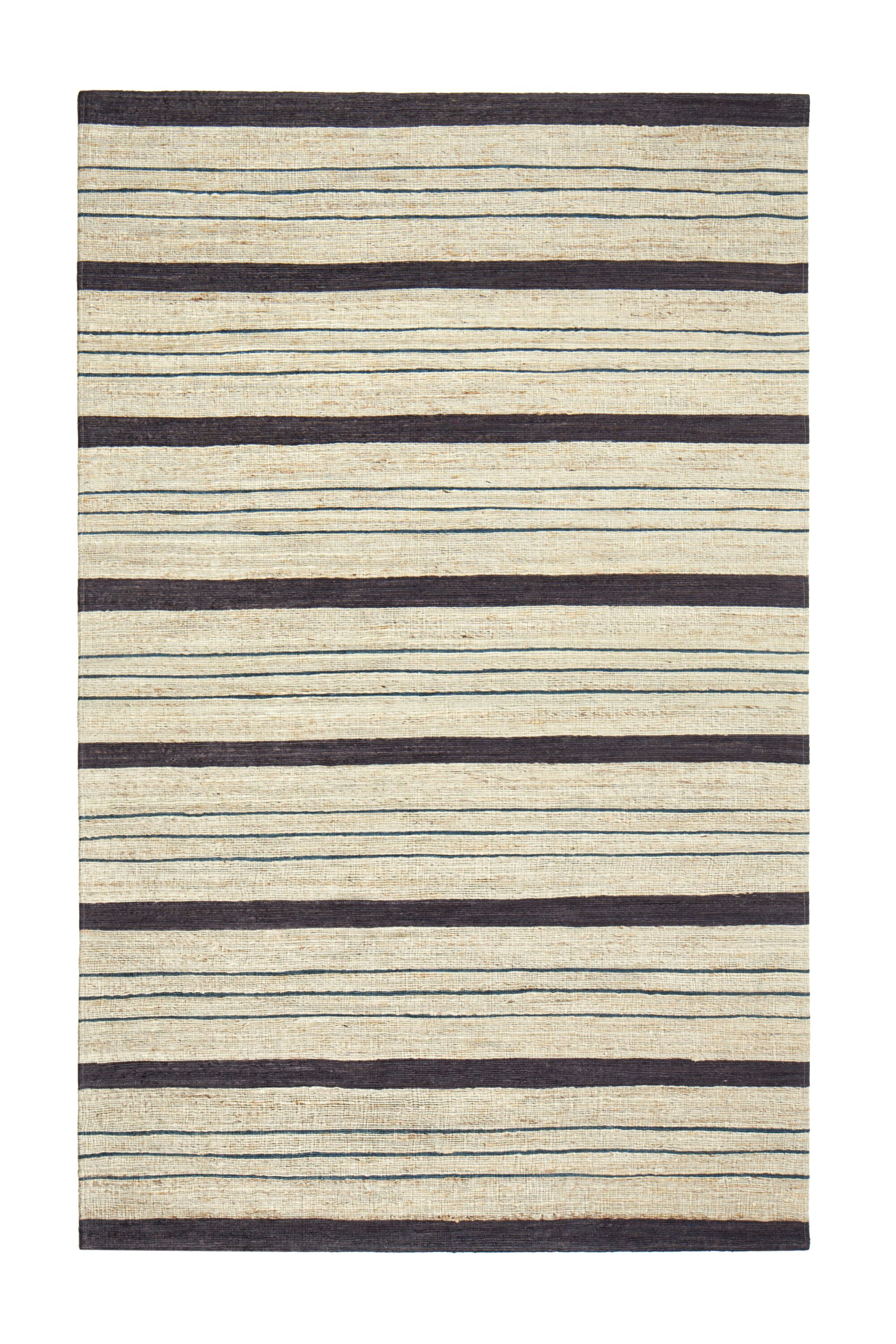 Griswold Hand-Woven Beige/Black Area Rug Rug Size: 9' x 12'