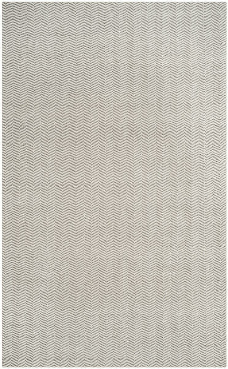 Laureldale Hand-Woven Silver Area Rug Rug Size: Rectangle 5' x 8'