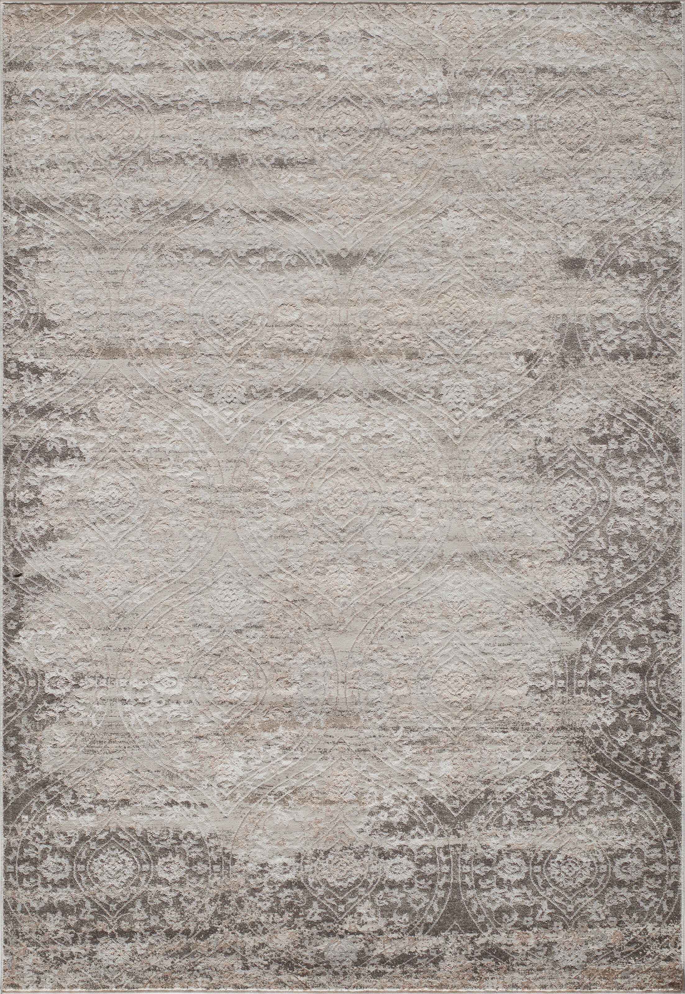 Autrey Ivory Area Rug Rug Size: Rectangle 3'3