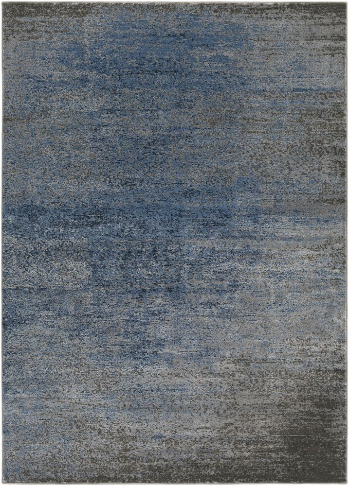 Hatboro Blue/Gray Area Rug Rug Size: Rectangle 5'3