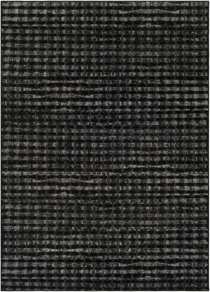 Hatboro Black Area Rug Rug Size: Rectangle 5'3