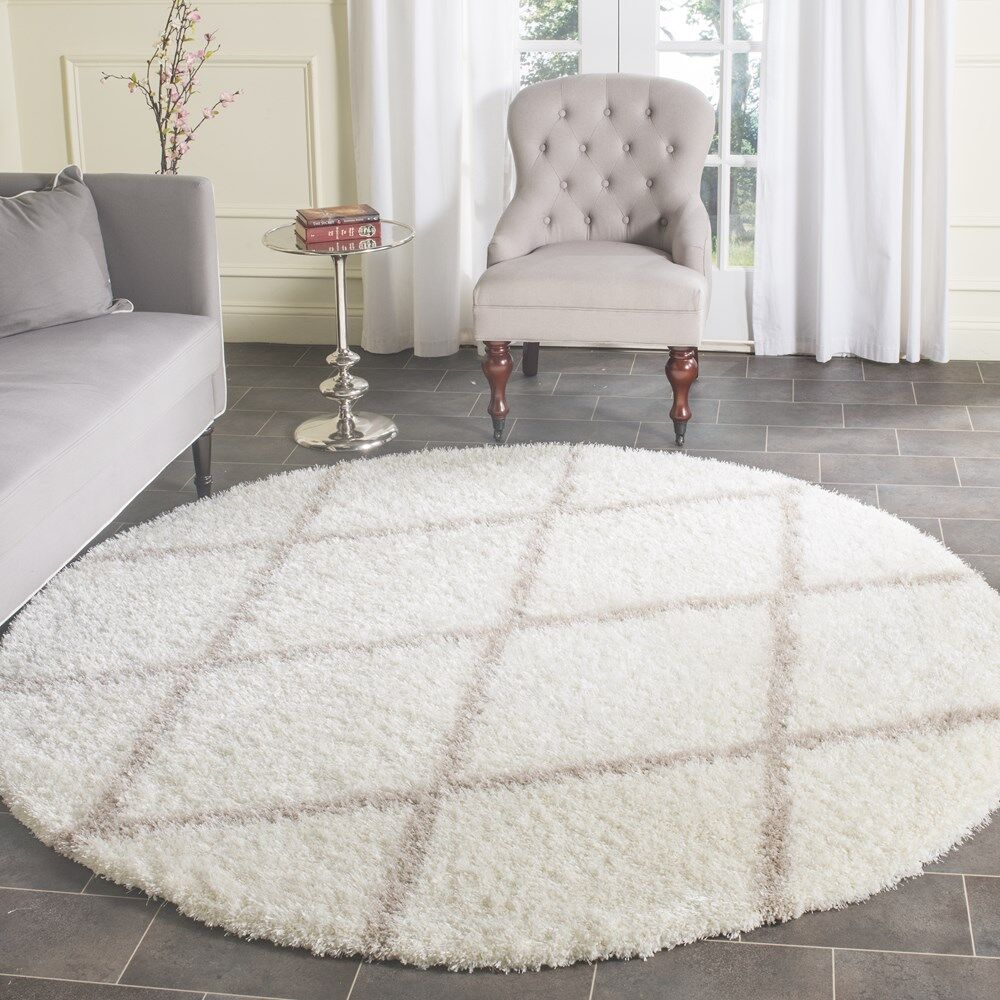 Features: -Material: 75% polypropylene / 25% polyester.-Power loomed.-Color: beige.-Primary Color: Beige.-Primary Pattern: Geometric.-Rug Shape: .-Construction: Machine Made.-Technique: Power Loom.-Material: Polypropylene -Material Details: 75% �polyp...