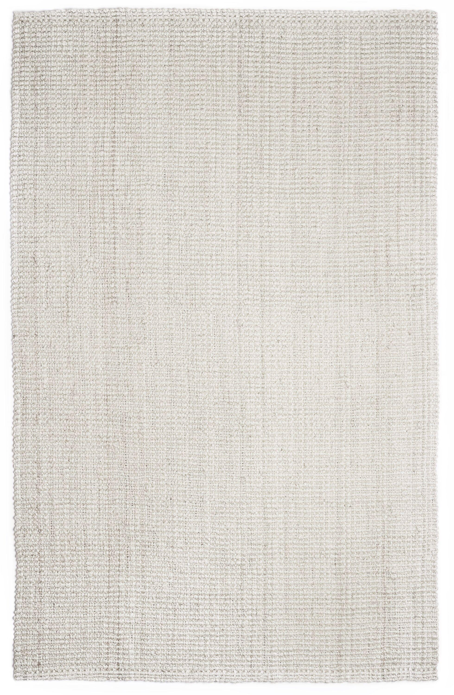 Villebois Hand-Woven Ivory Area Rug Rug Size: Rectangle 4' x 6'