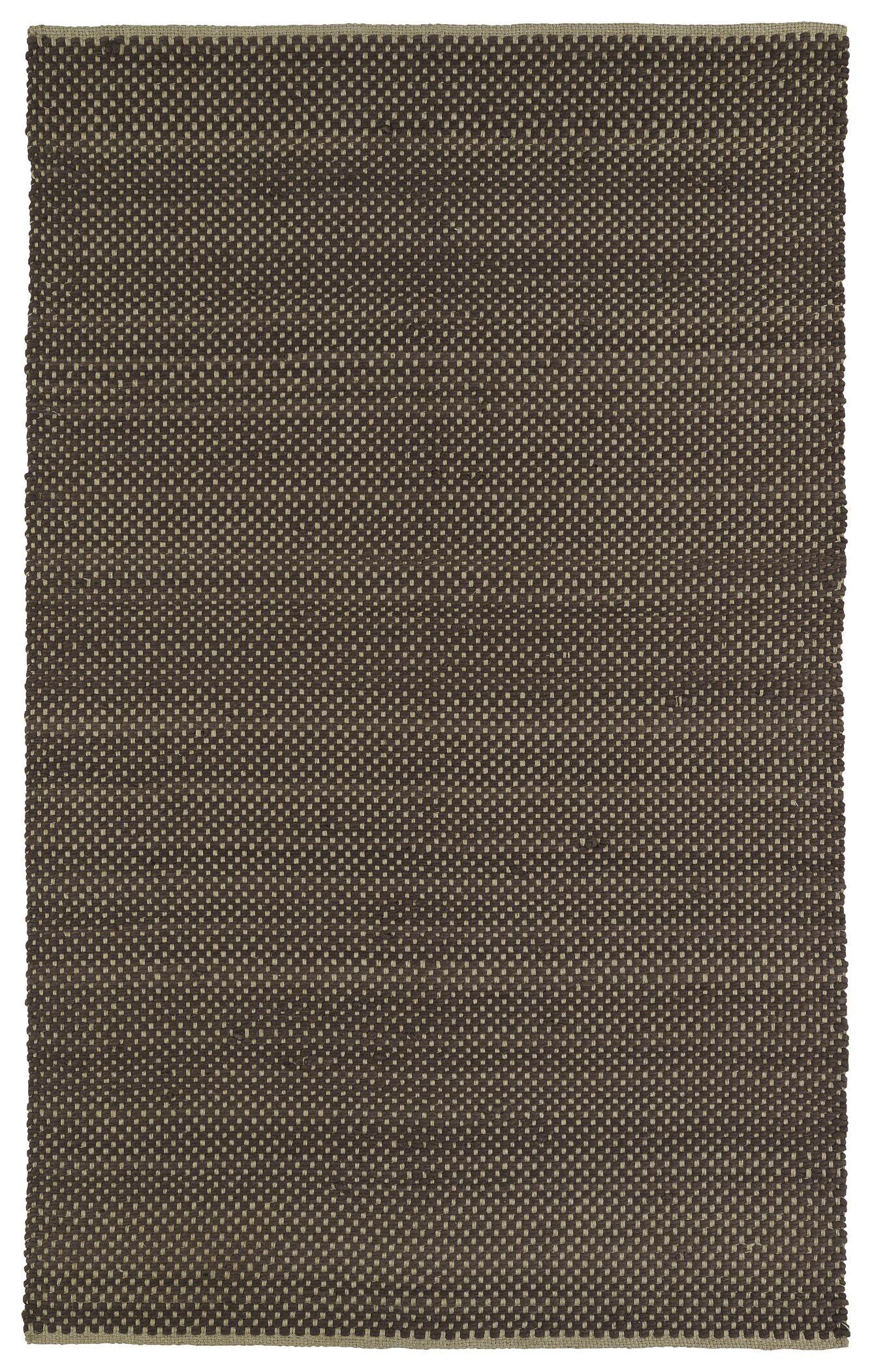 Emilia Chocolate Area Rug Rug Size: Rectangle 5' x 7'6