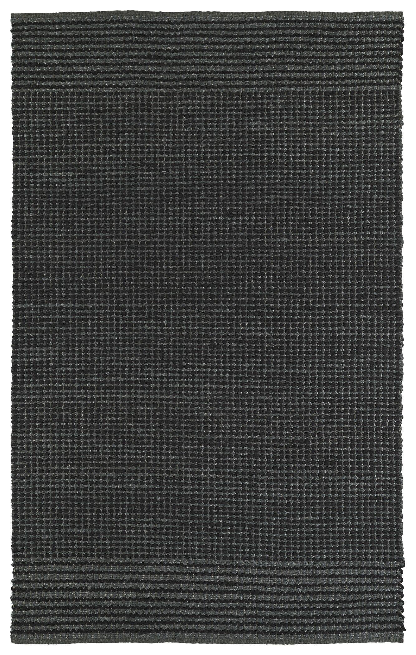 Emilia Charcoal Area Rug Rug Size: Rectangle 3' x 5'