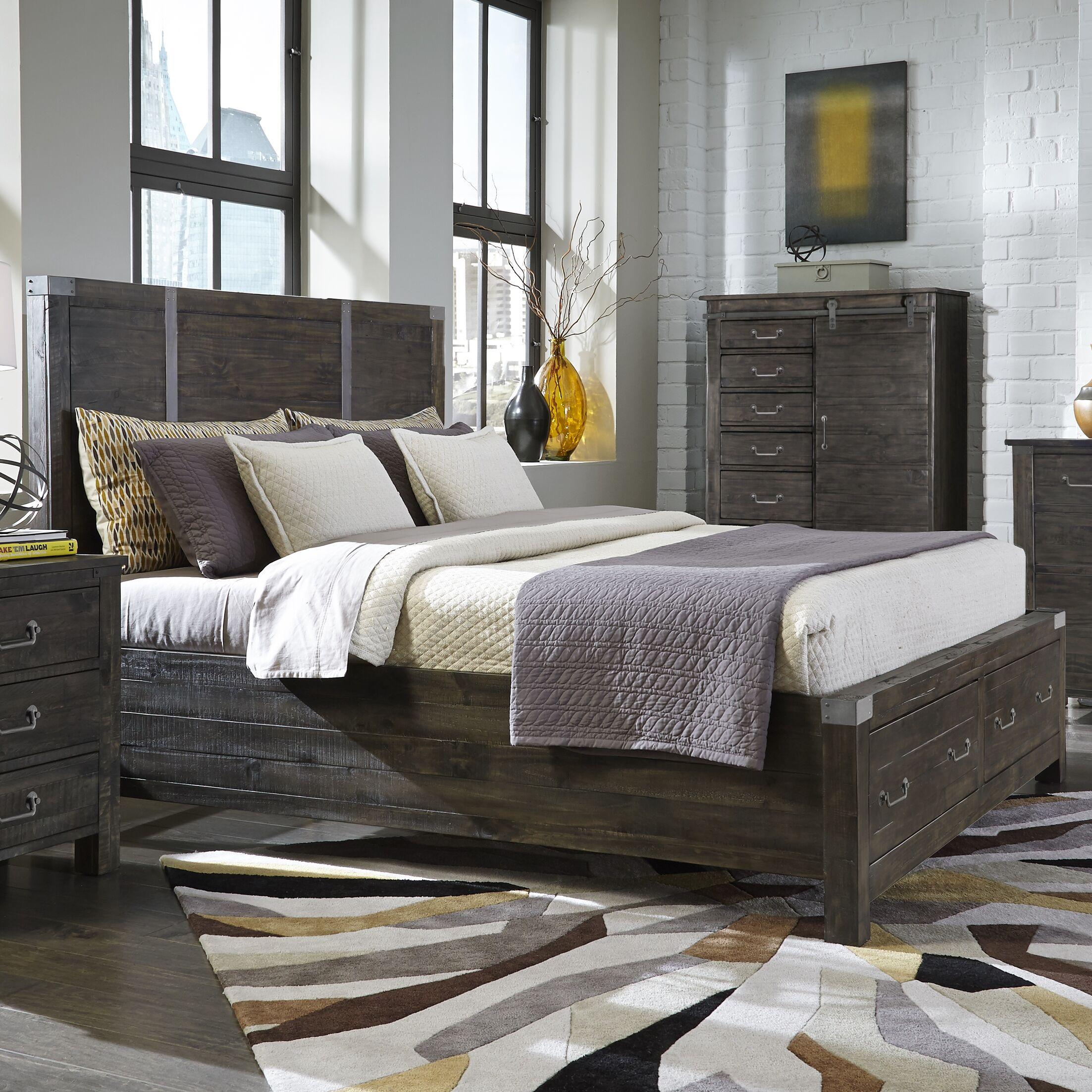 Storage Platform Bed Size: King