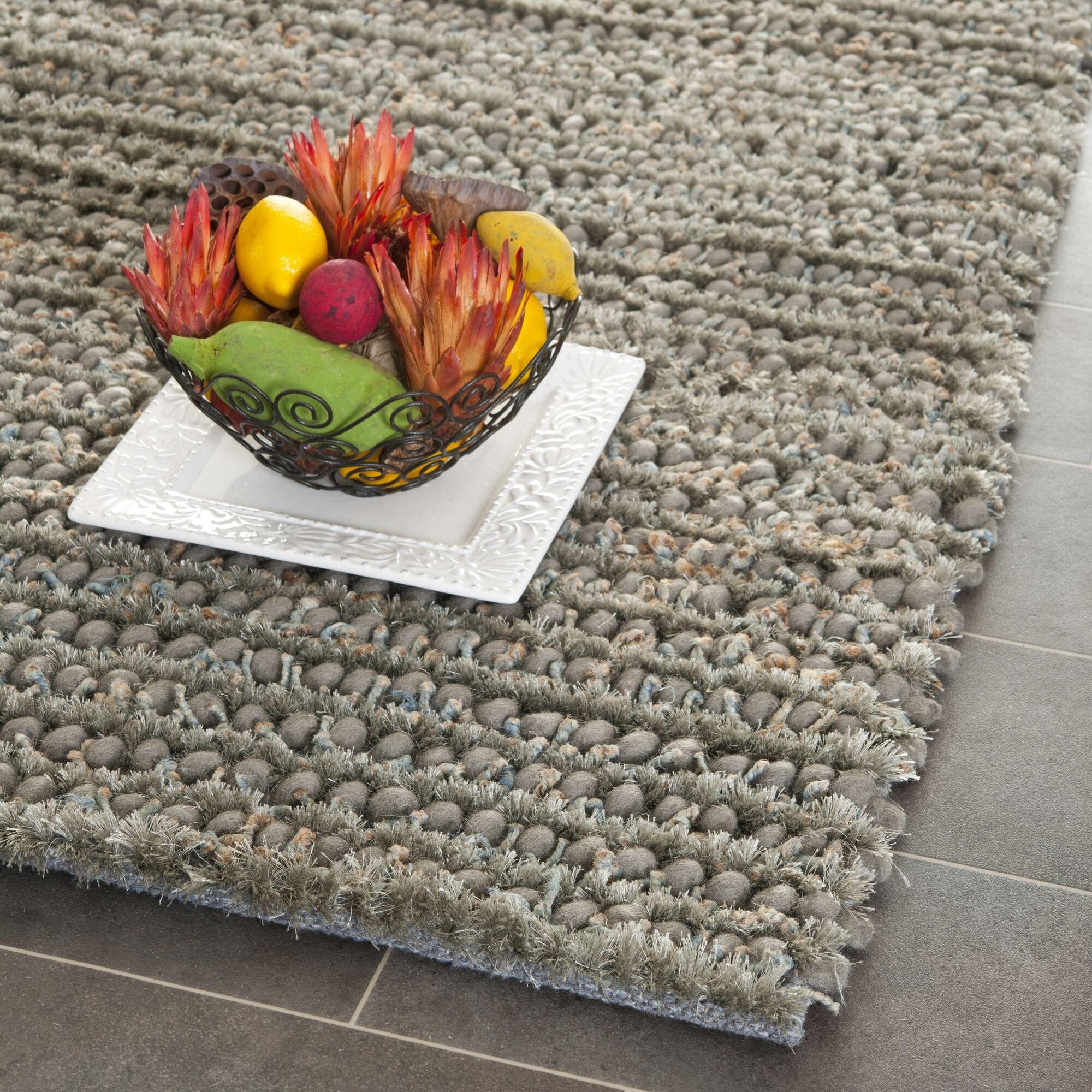Matelles Grey Rug Rug Size: Rectangle 6' x 9'
