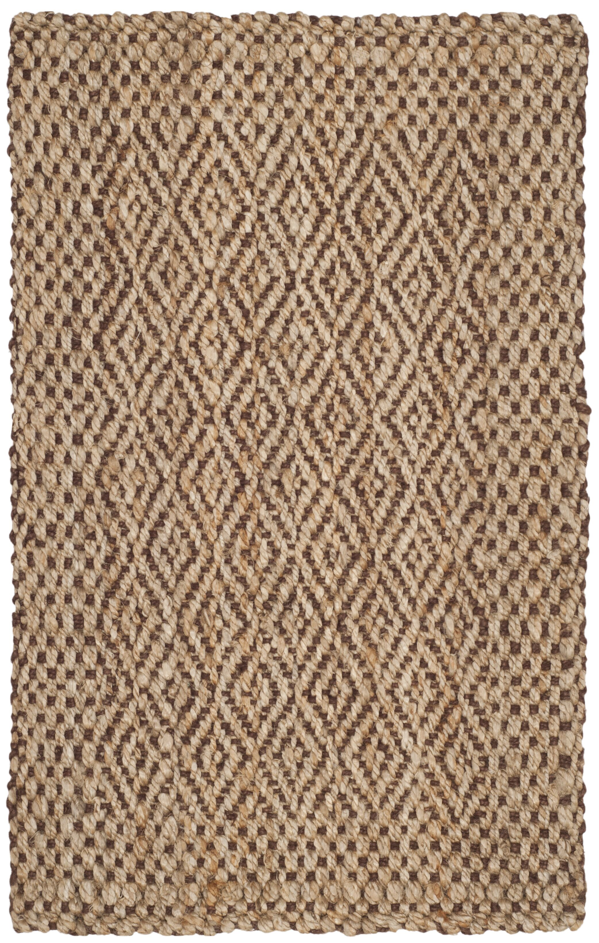 Lylee Fiber Hand-Woven Natural/Brown Area Rug Rug Size: Runner 2'3