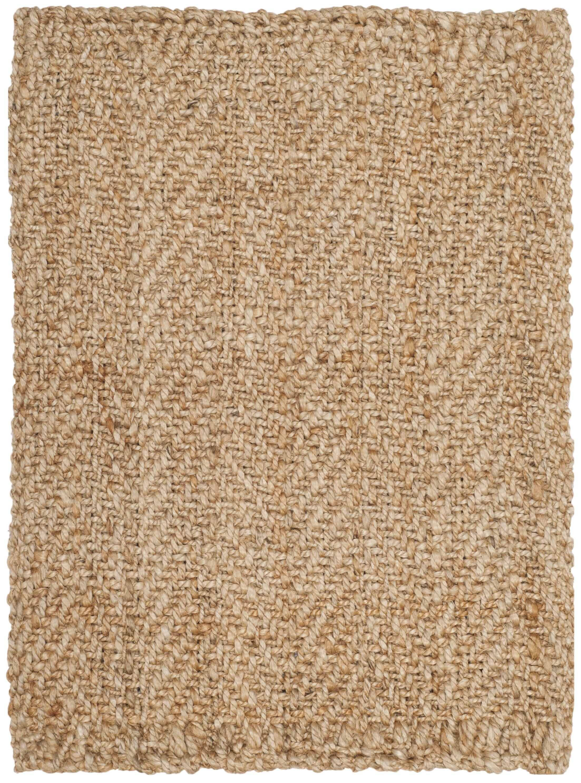 Claudette Fiber Hand-Woven Natural Area Rug Rug Size: Rectangle 8' x 10'