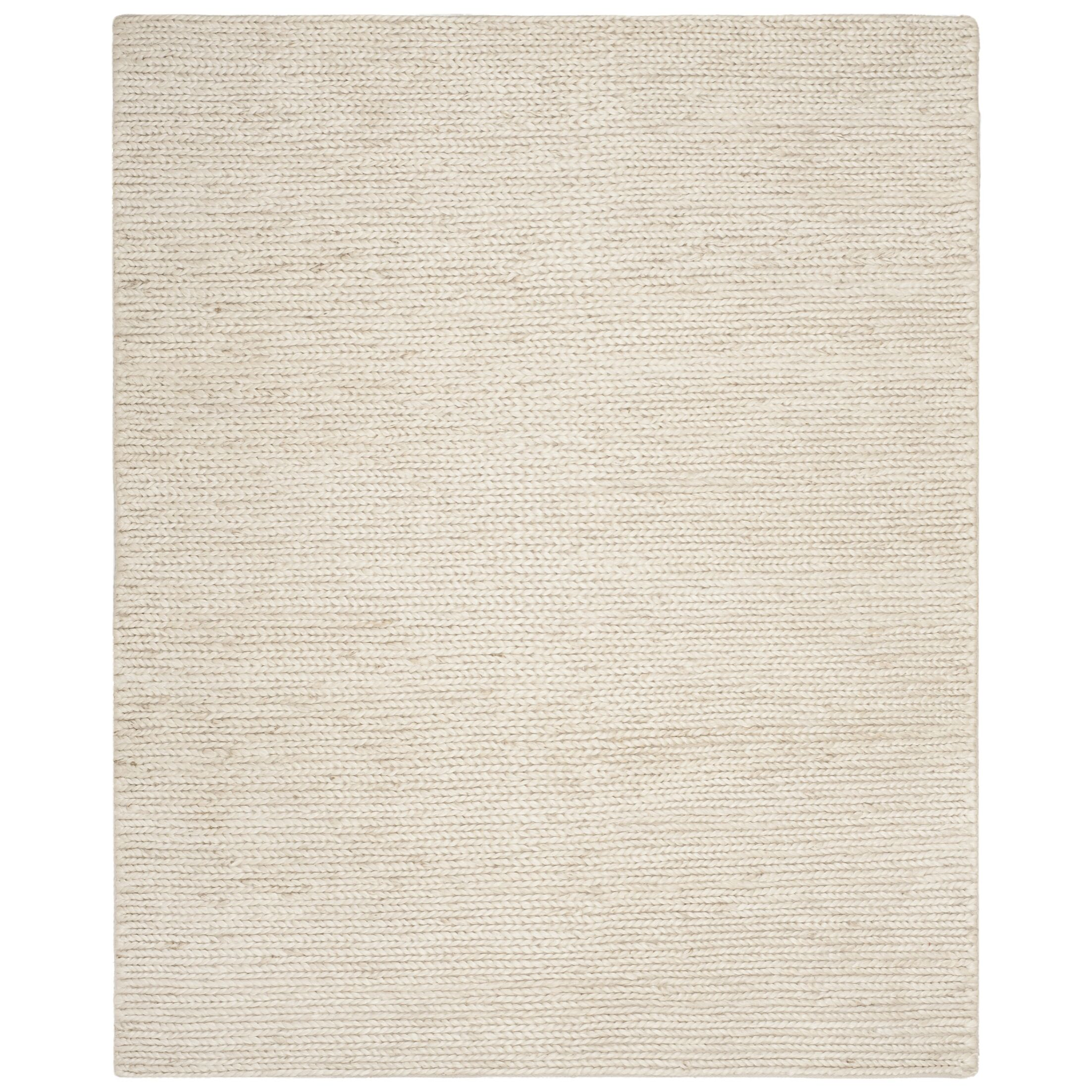Pennsburg Fiber Hand-Woven Ivory Area Rug Rug Size: Rectangle 6' x 9'