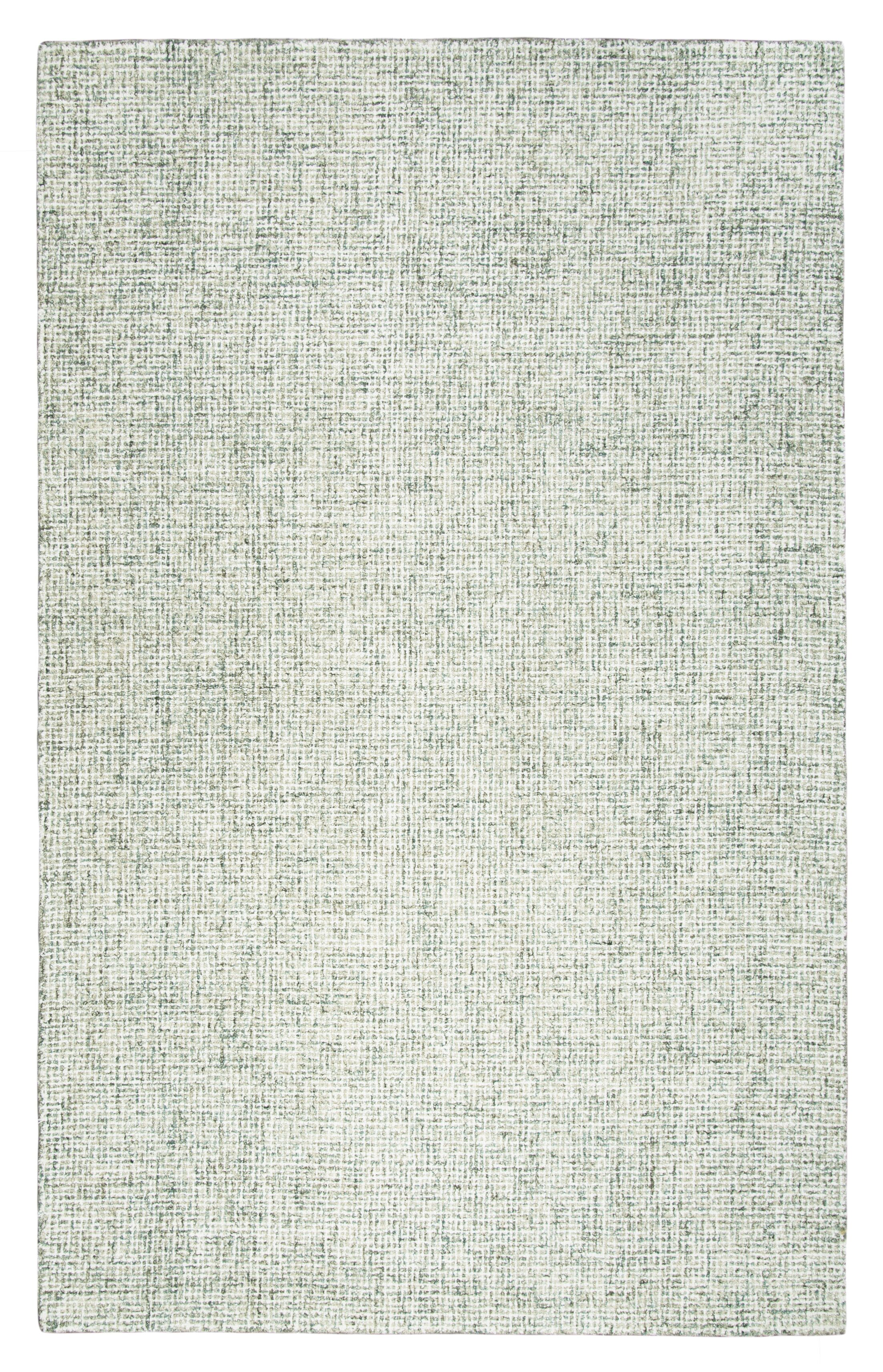 Marsh Hand-Tufted Wool Green Area Rug Rug Size: Rectangle 3' x 5'