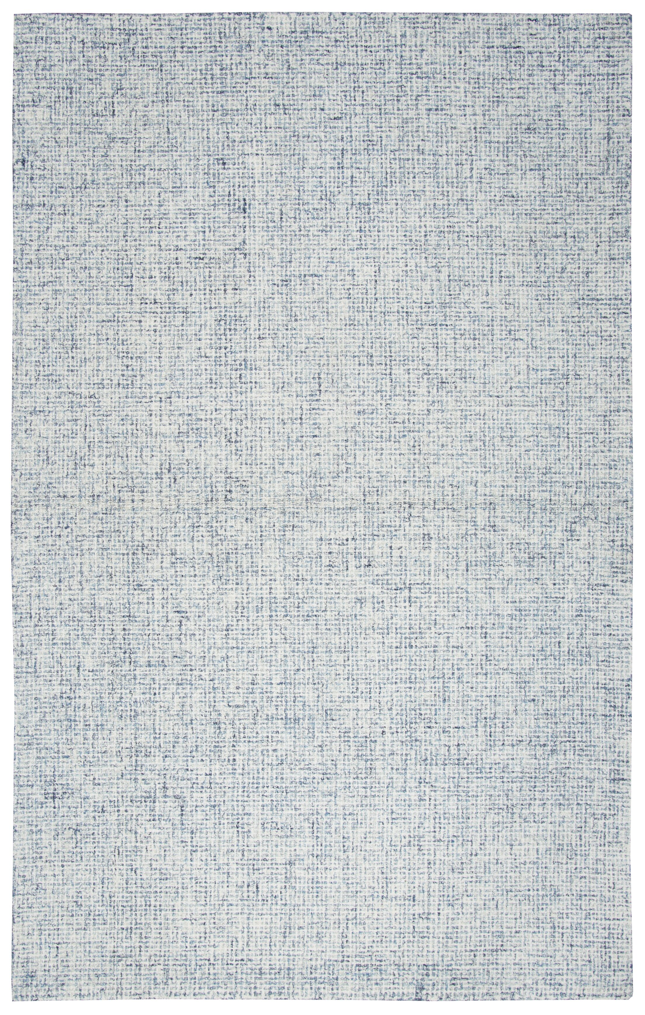 Marsh Hand-Tufted Wool Blue Area Rug Rug Size: Rectangle 8' x 10'