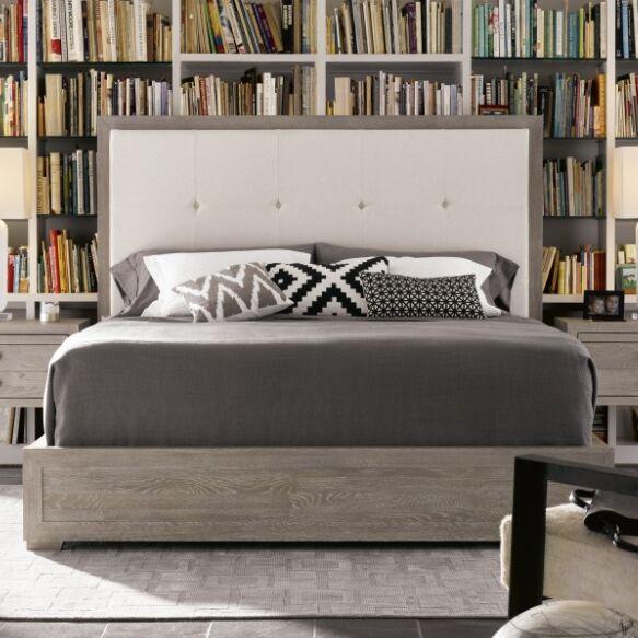 Perreault upholstered Panel Bed Size: King