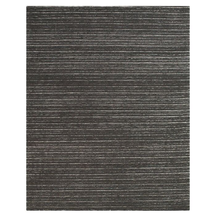 Amherst Hand-Tufted Graphite Area Rug Size: Rectangle 3'6