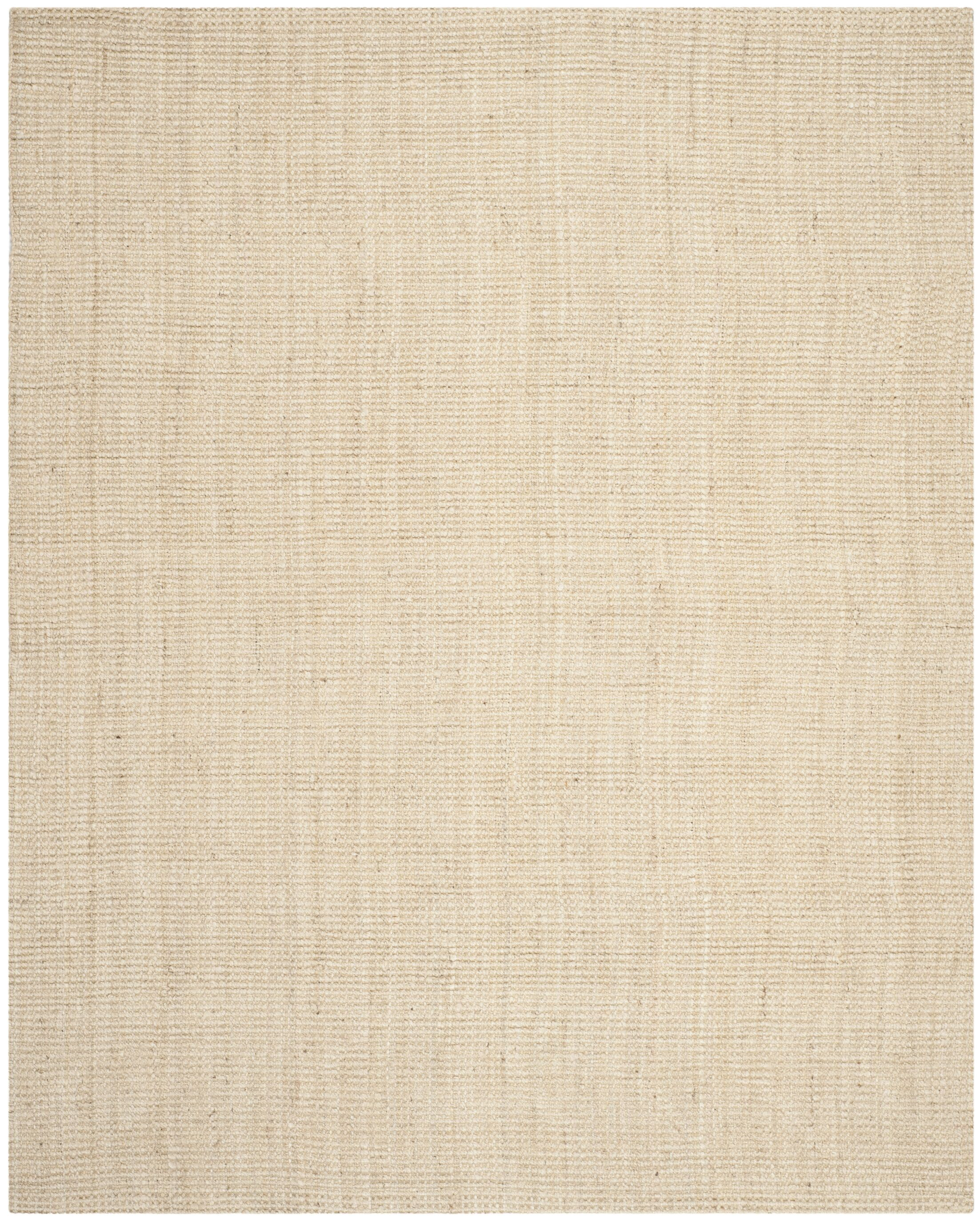 Muriel Hand-Woven Ivory Area Rug Rug Size: Rectangle 9' x 12'