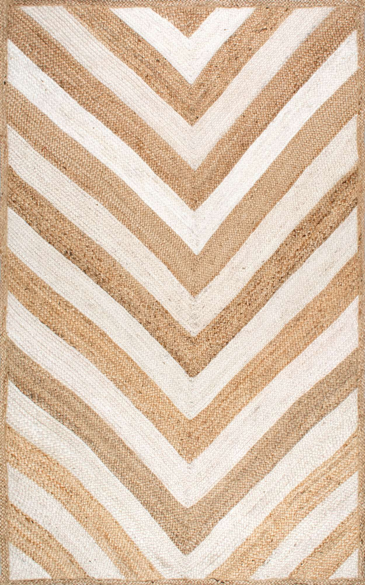 Cassandra Hand-Woven Natural Area Rug Rug Size: Rectangle 5' x 8'
