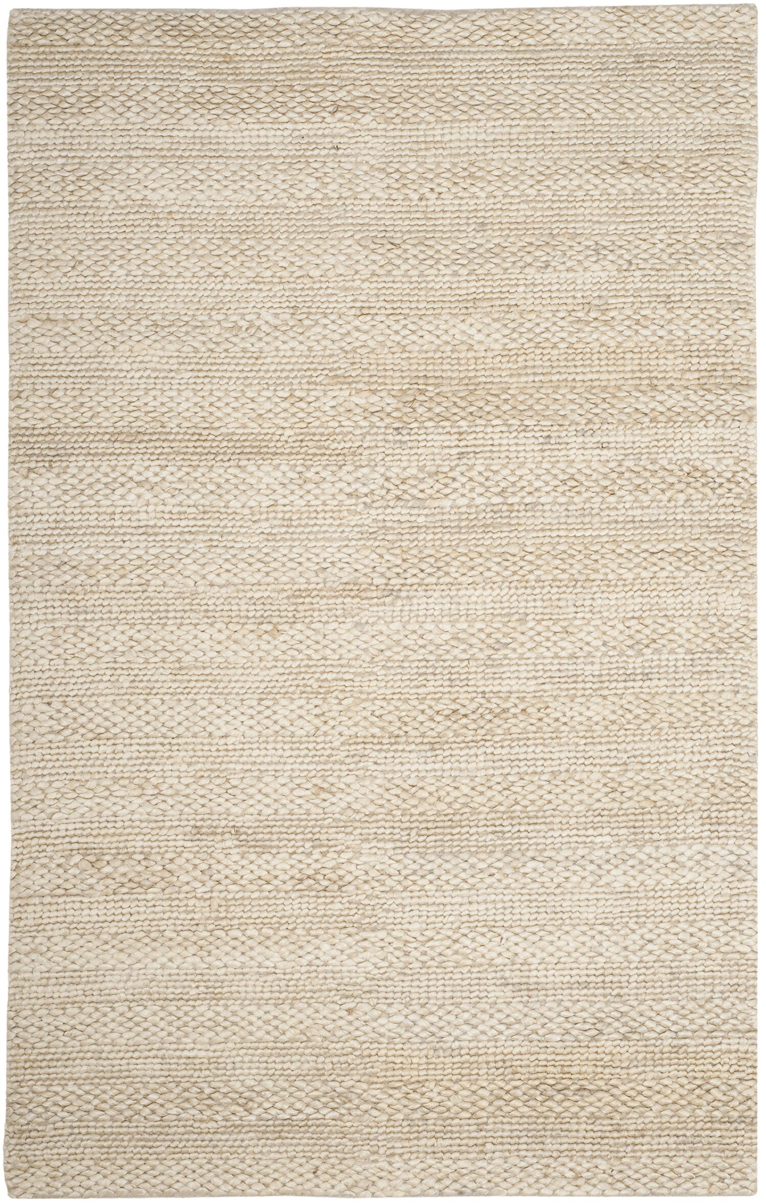Eco-Smart Hand-Woven Bleach Area Rug Rug Size: Rectangle 5' x 8'