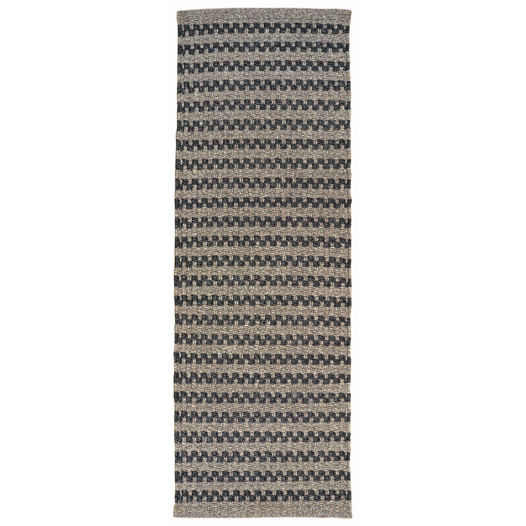 Havana Hand-Woven Gray Indoor/Outdoor Area Rug Rug Size: Runner 2' x 8'