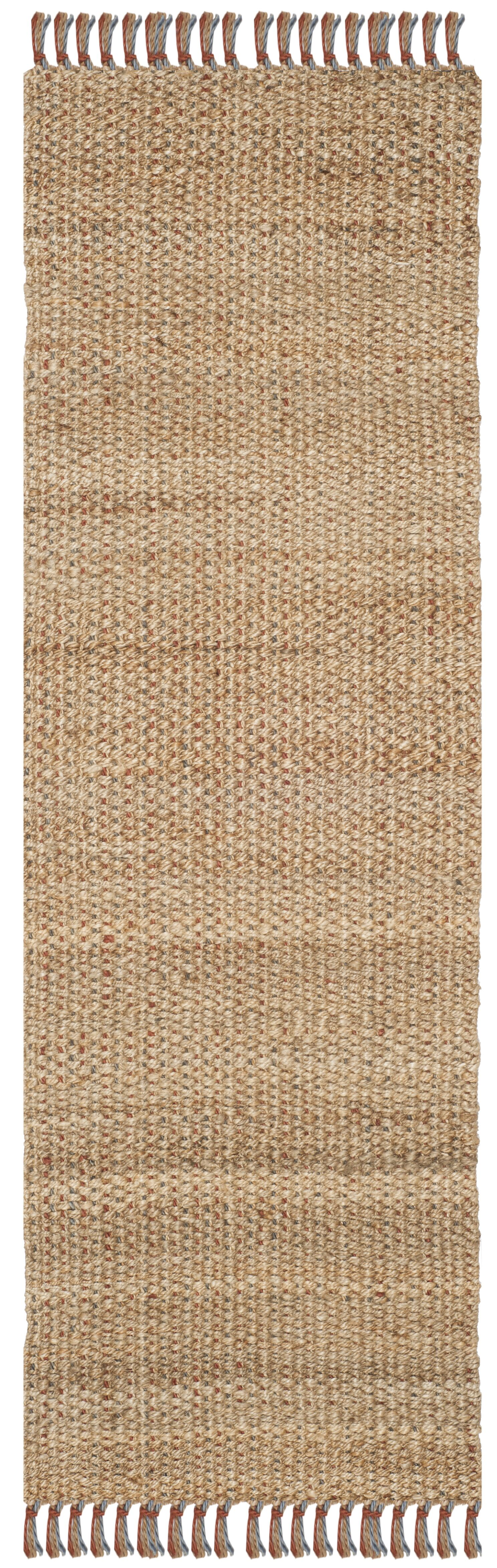 Muriel Hand Woven Brown Area Rug Rug Size: Runner 2'6