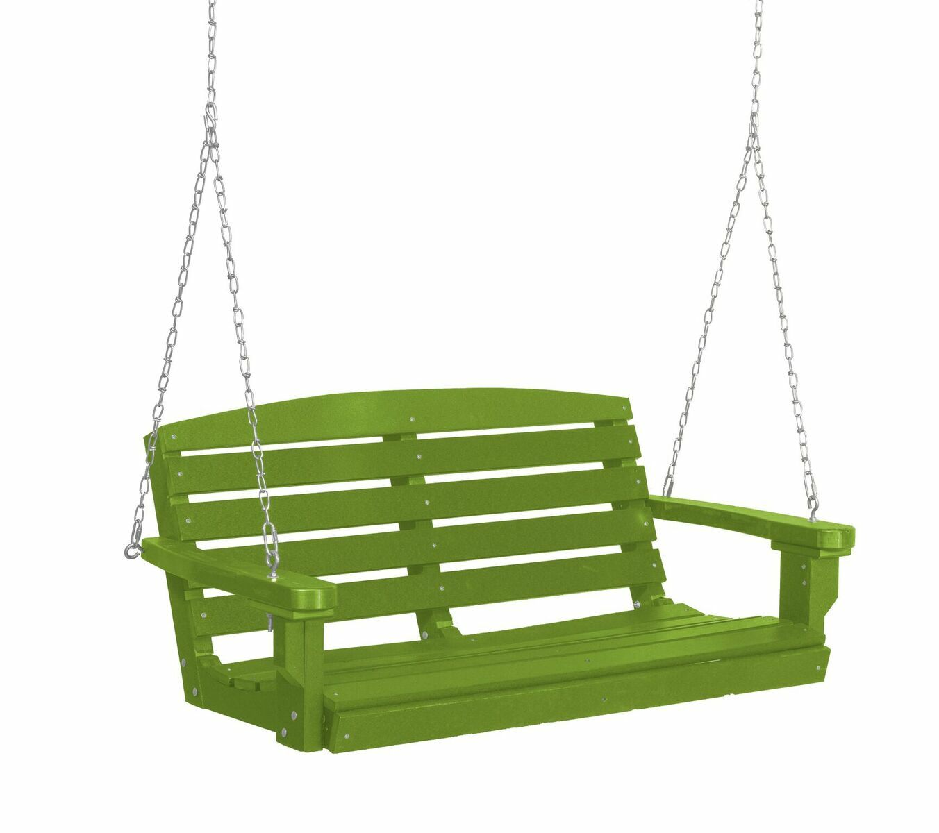Sawyerville Porch Swing Finish: Lime