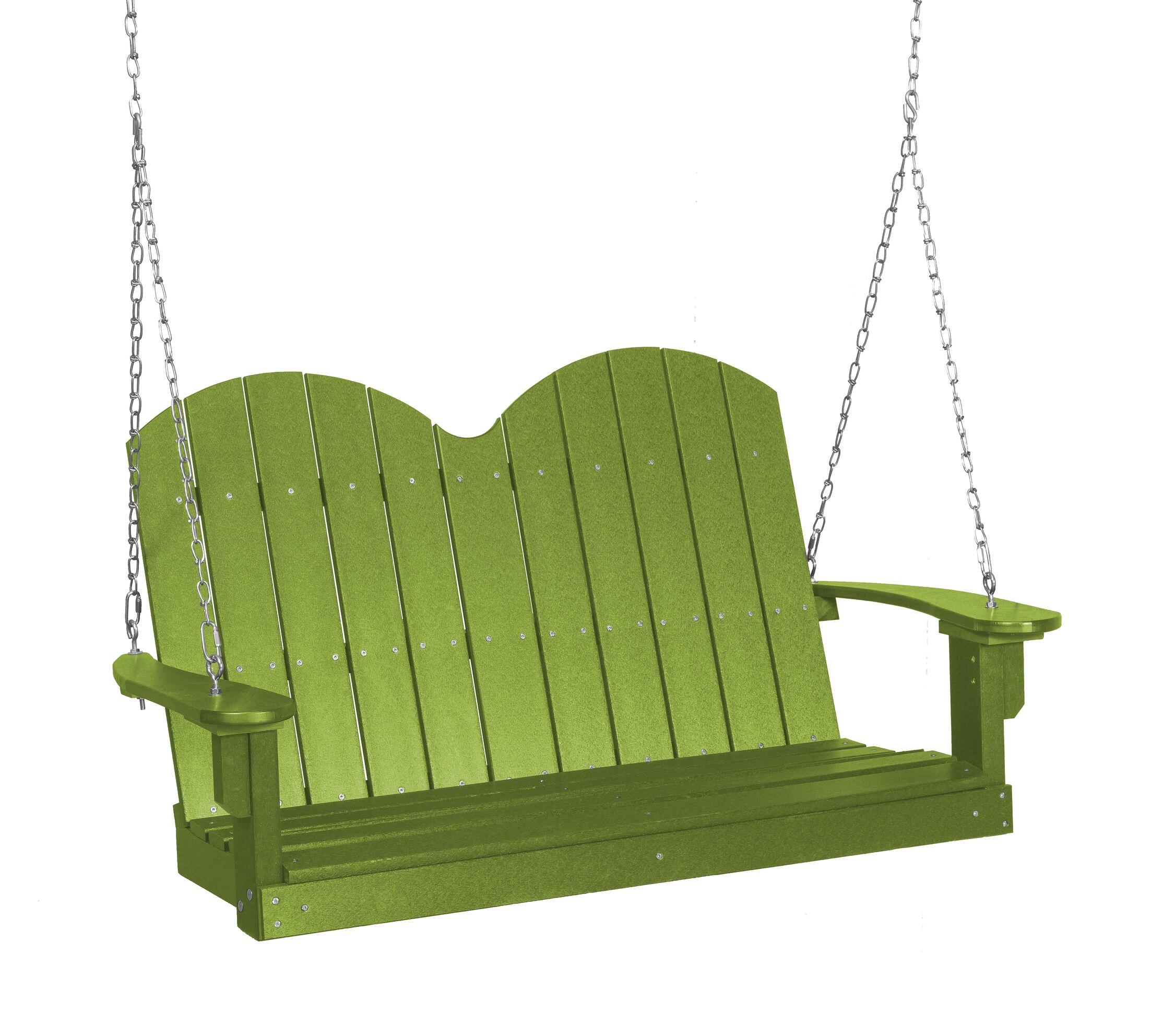 Sawyerville Savannah Porch Swing Finish: Lime