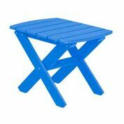 Sawyerville Rectangle Side Table Color: Blue
