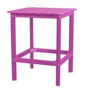 Sawyerville Rectangle Dining Table Color: Purple