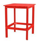 Sawyerville Rectangle Dining Table Color: Bright Red