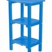 Sawyerville Contemporary Side Table Color: Blue