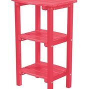 Sawyerville Contemporary Side Table Color: Pink