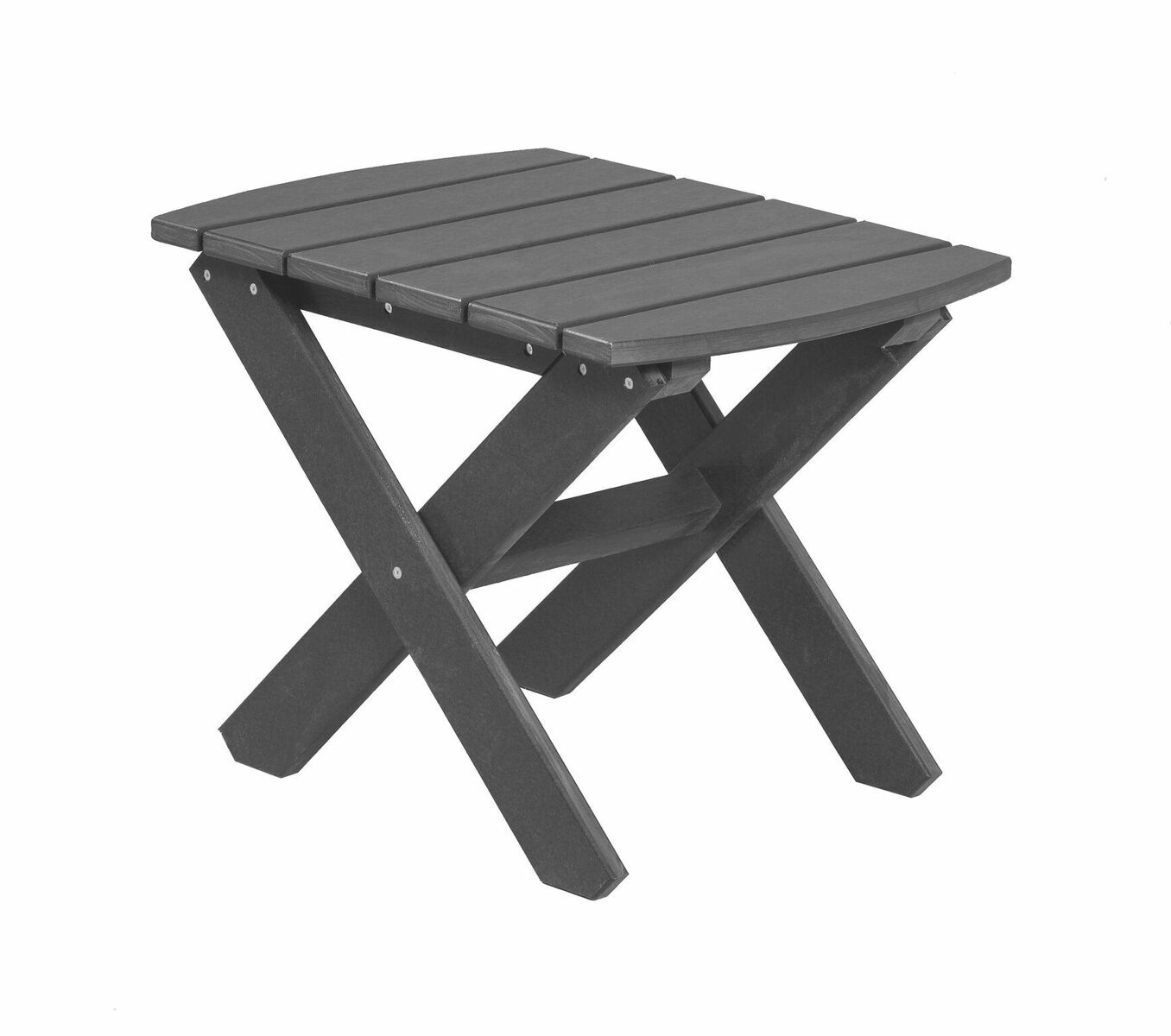 Sawyerville Rectangle Side Table Color: Dark Gray