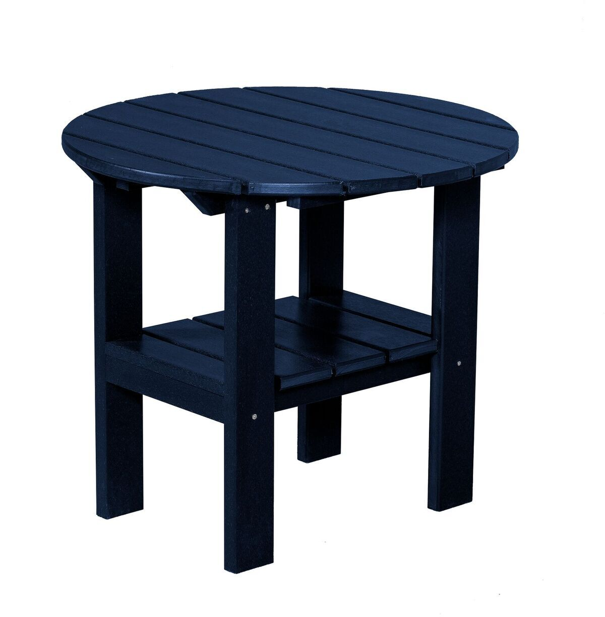 Sawyerville Round Side Table Color: Patriot Blue