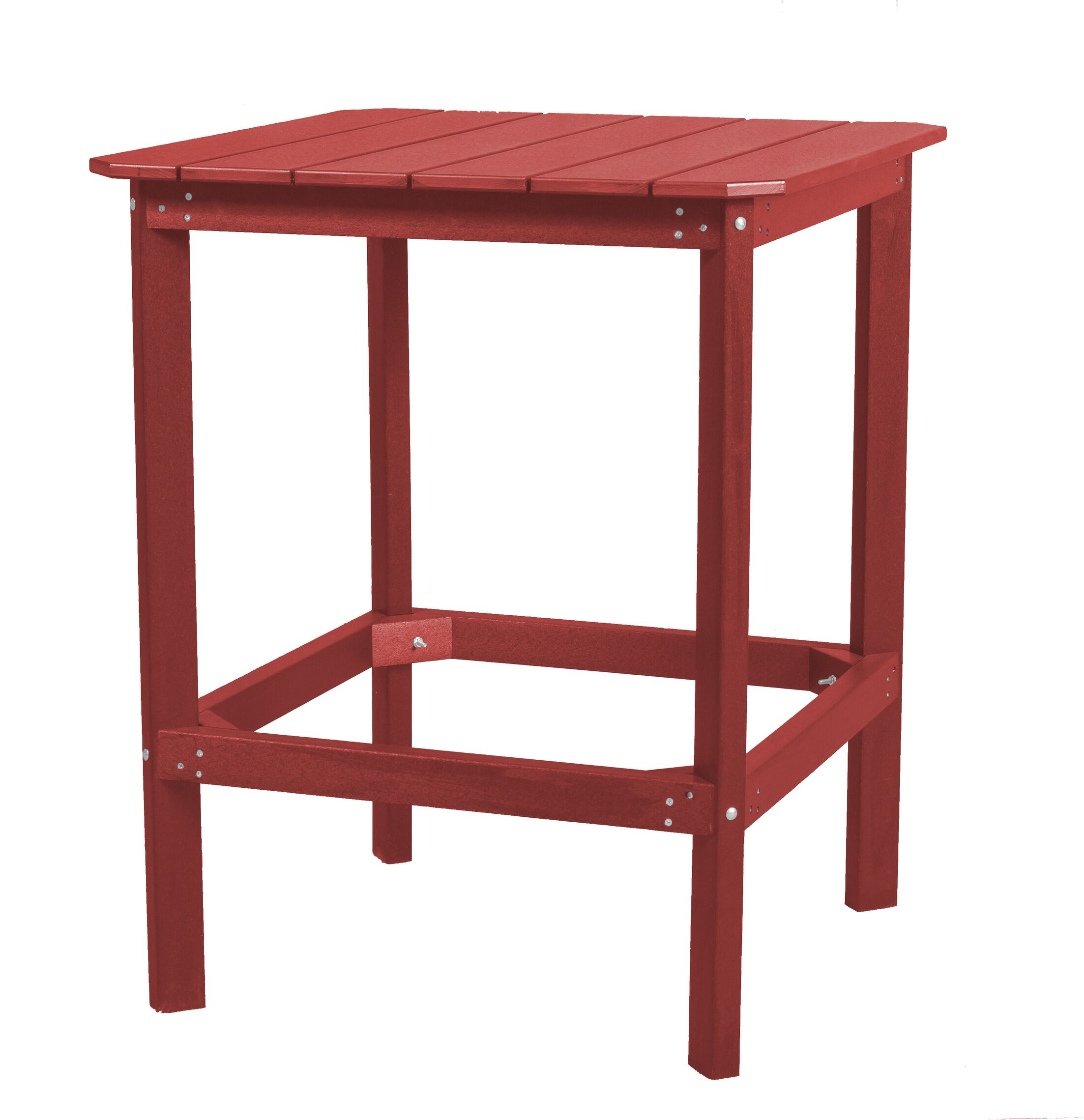 Sawyerville Rectangle Dining Table Color: Cardinal Red