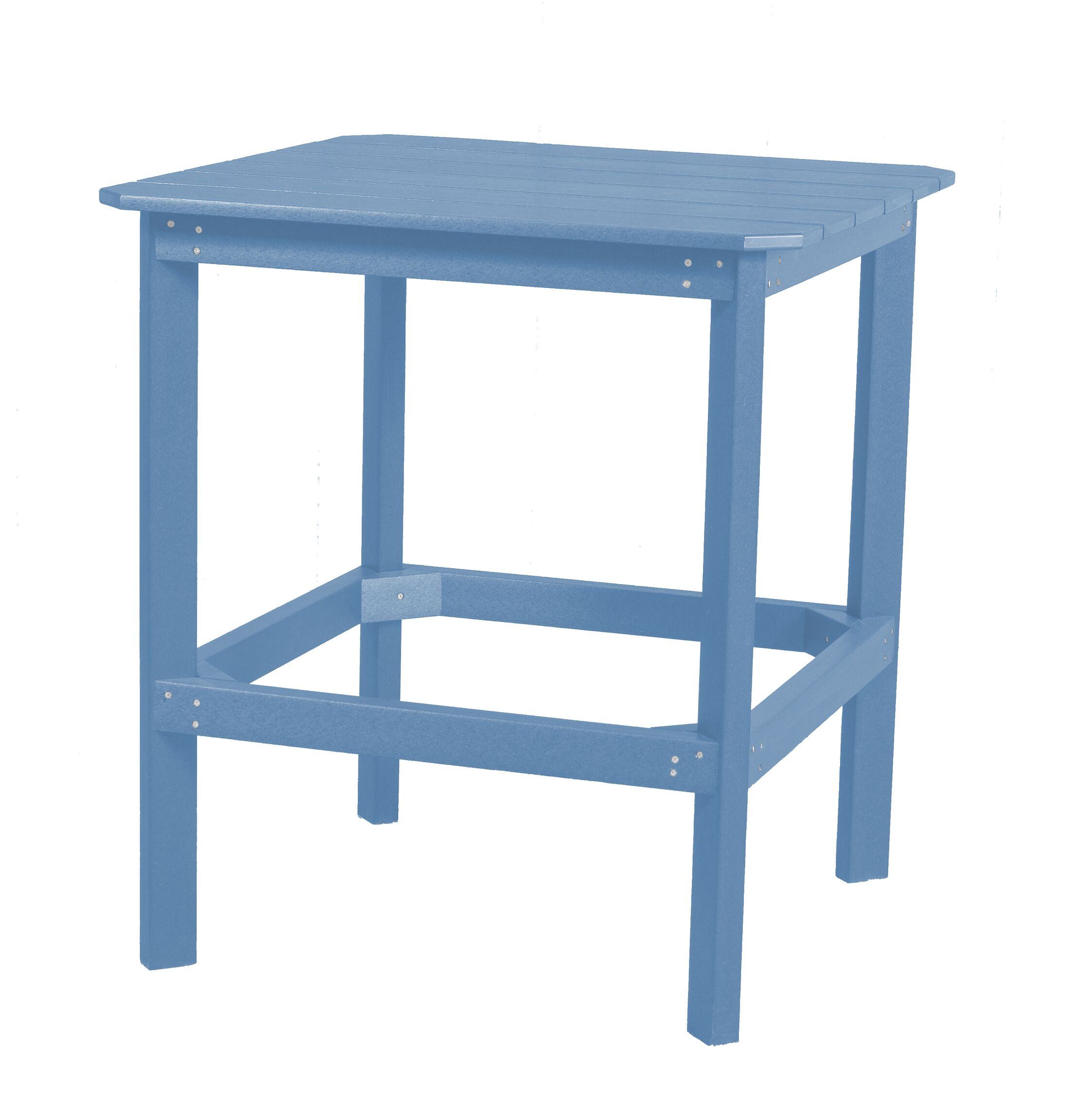 Sawyerville Contemporary Dining Table Color: Powder Blue