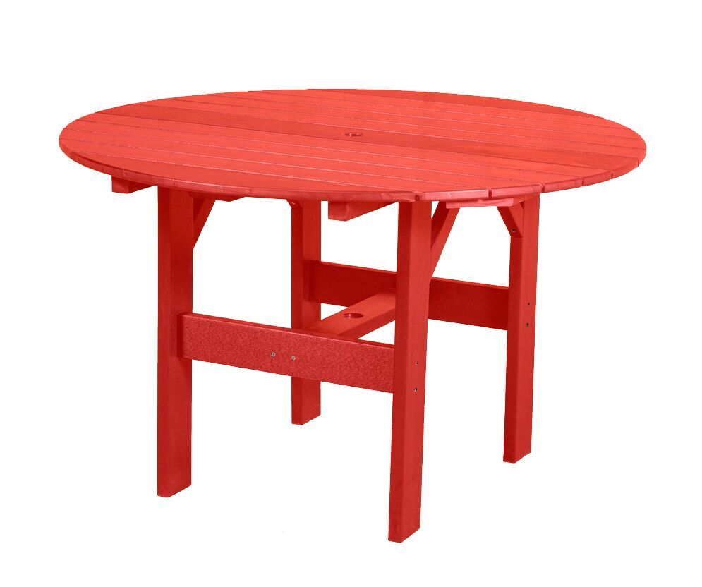 Sawyerville Contemporary Chat Table Color: Red
