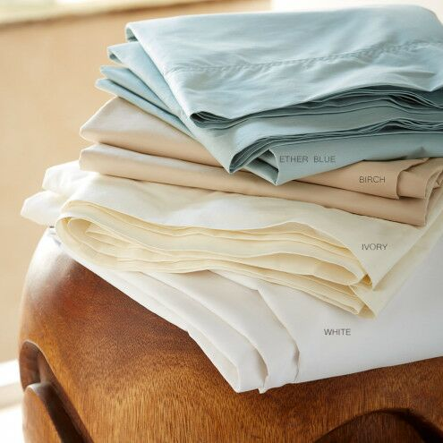 Classic Egyptian-Quality Cotton Standard Sham Color: Ivory