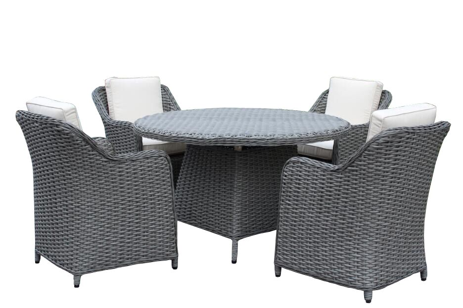 Churchill Premium 5 Piece Dining Set with Cushions