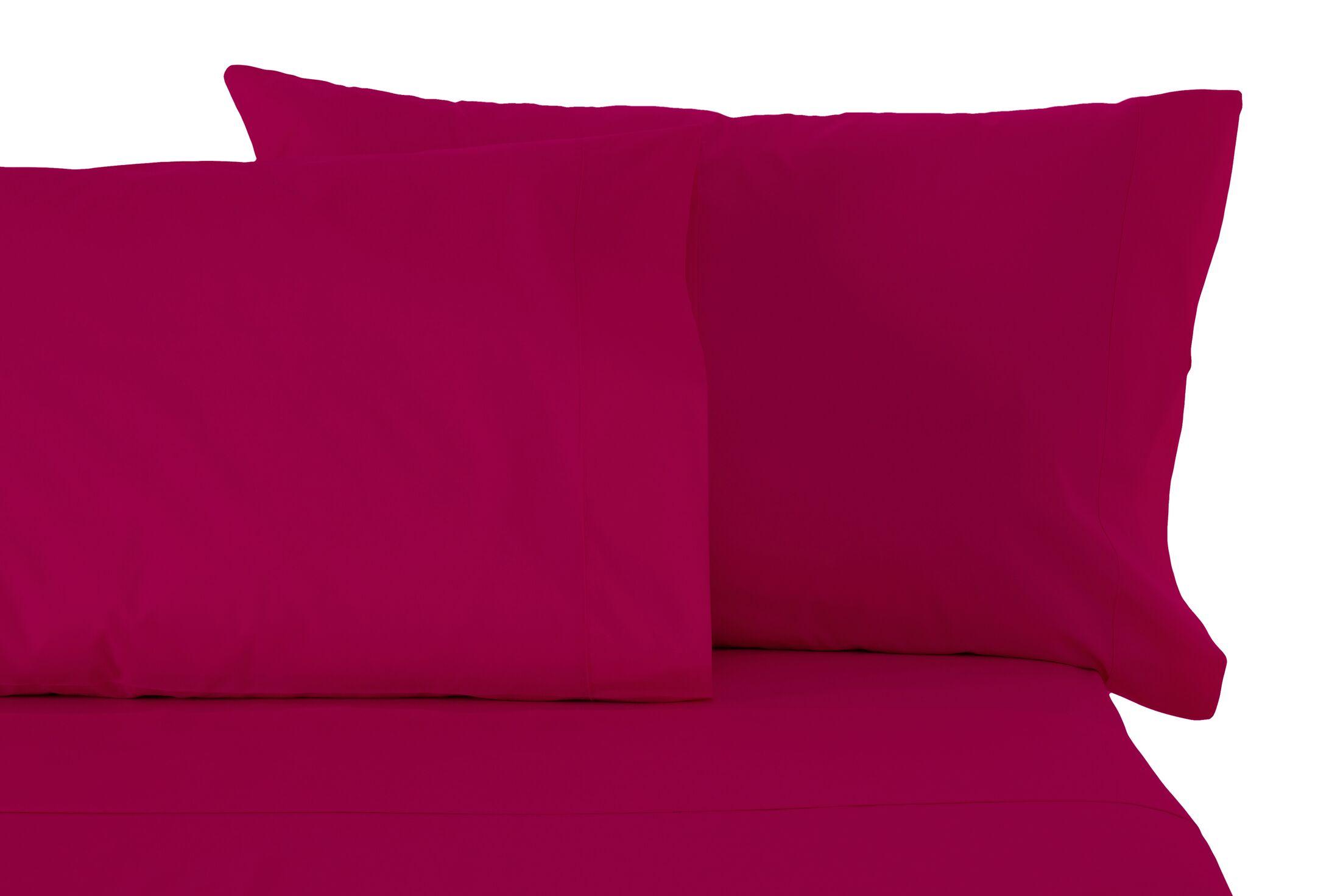 Sheet Set Color: Raspberry, Size: California King