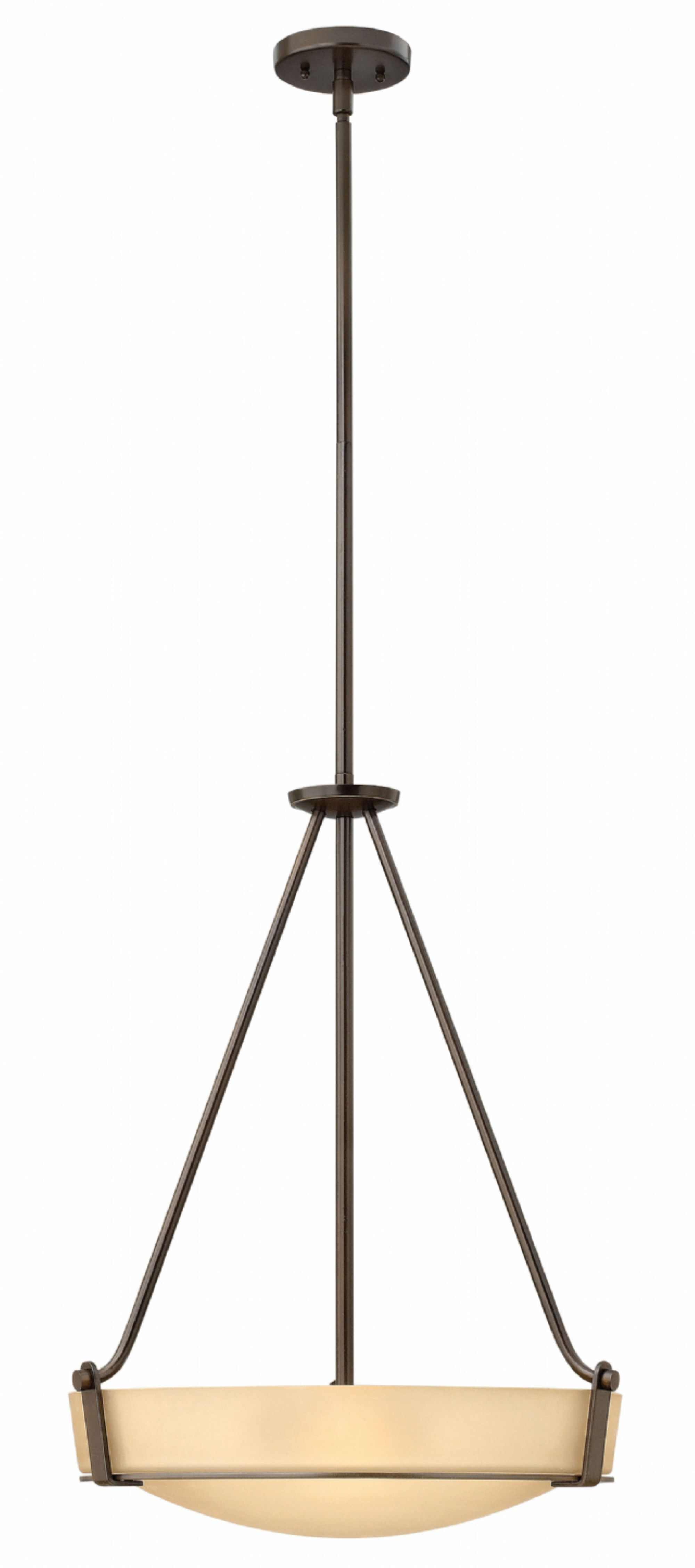 Hathaway 1-Light Bowl Pendant Size: 29.25