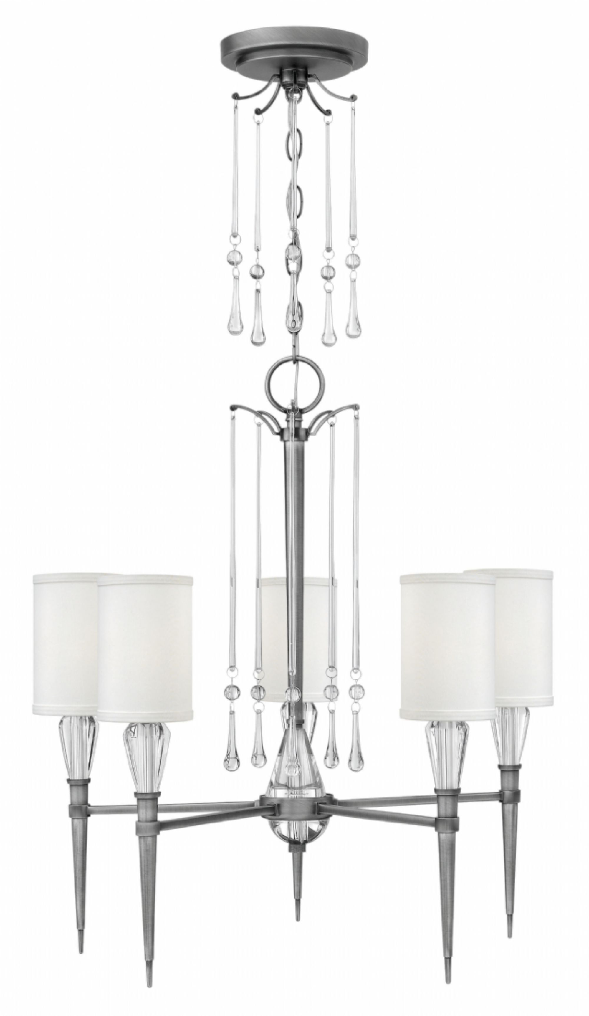 Bentley 5-Light Shaded Chandelier