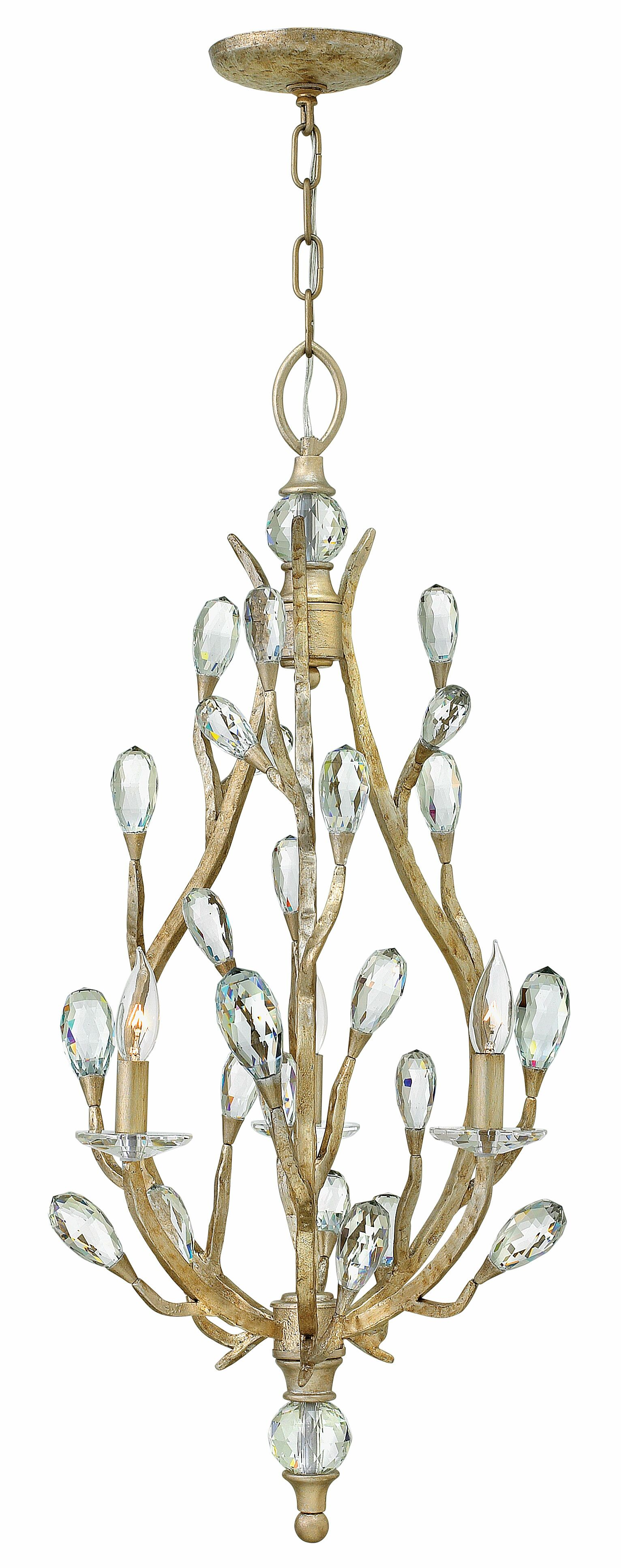 Diandre 3-Light Candle Style Chandelier