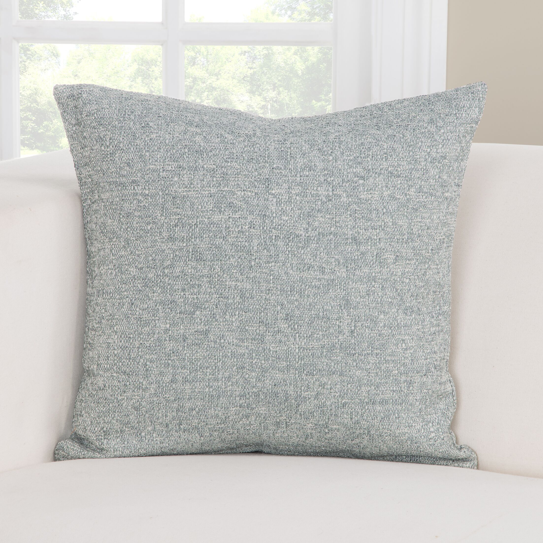 Belmont Throw Pillow (Set of 2) Size: 16