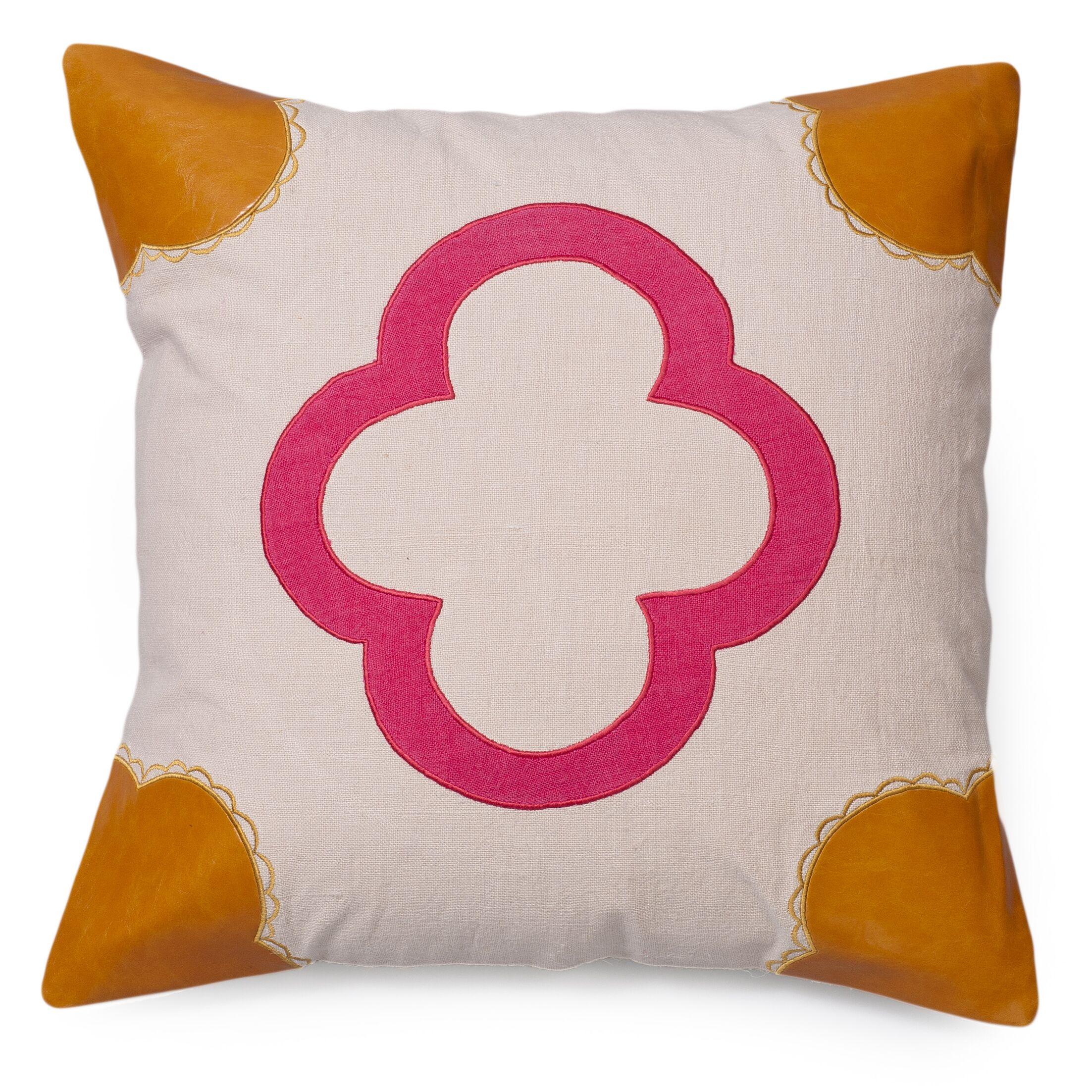 Emily Linen Throw Pillow