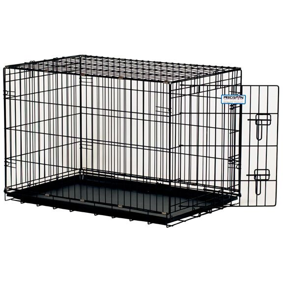 ProValu Single-Door Dog Crate in Black Size: X-Small (19