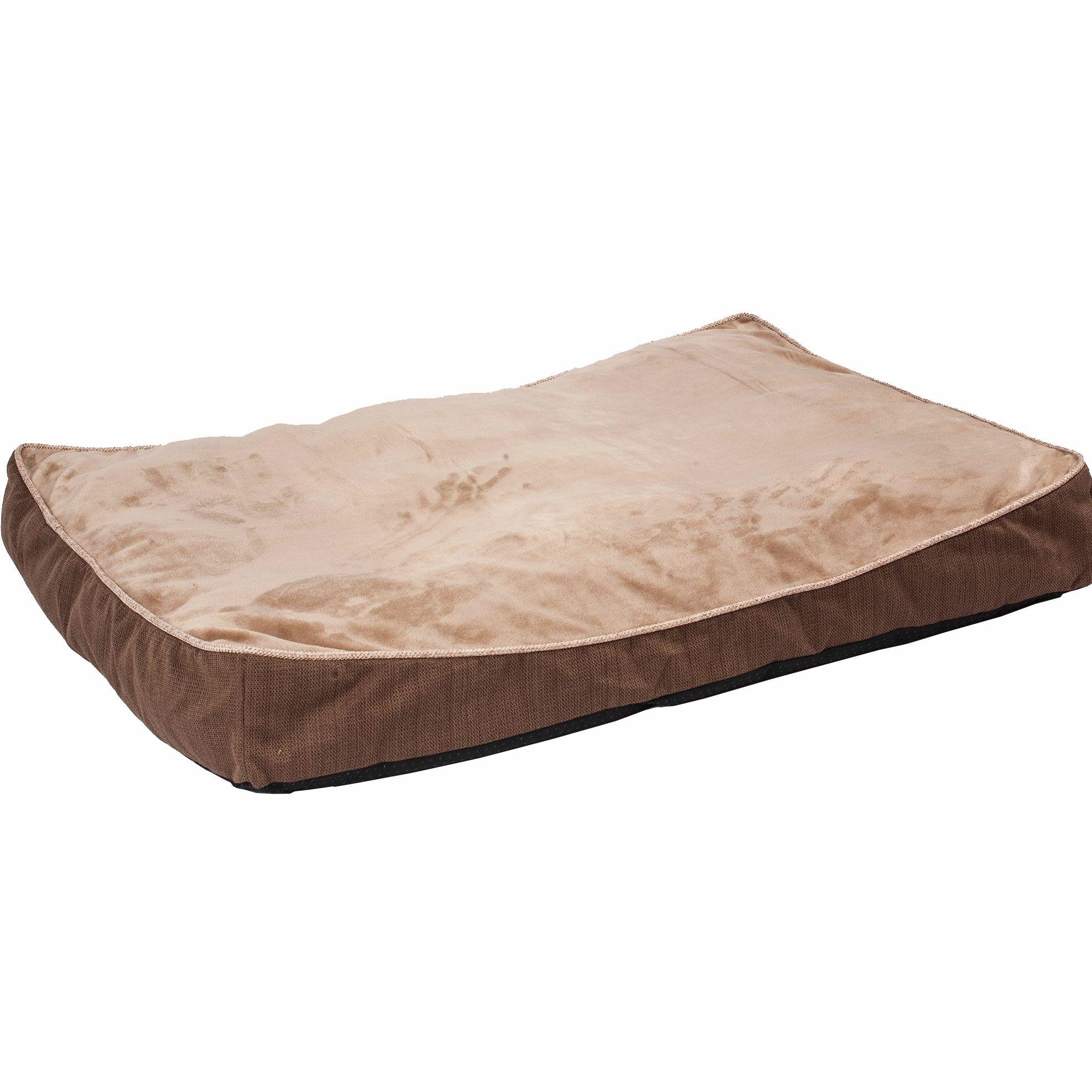Maggiemae Rustic Elegance Mattress Bed Color: Brown