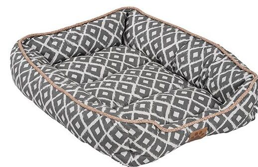Maxine Ikat Drawer Bed Color: Gray