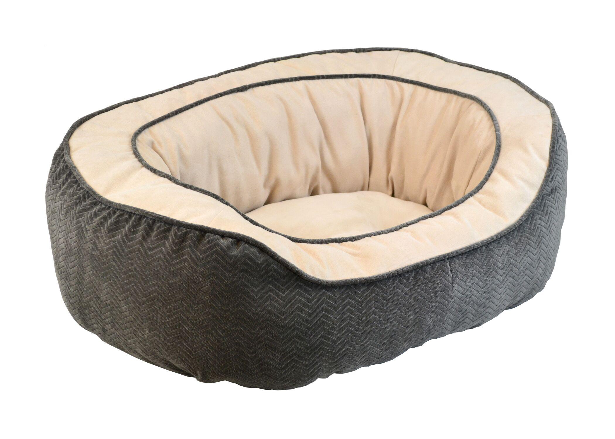 Haviland Gusset Daydreamer Pet Bed Color: Grey, Size: Large (32