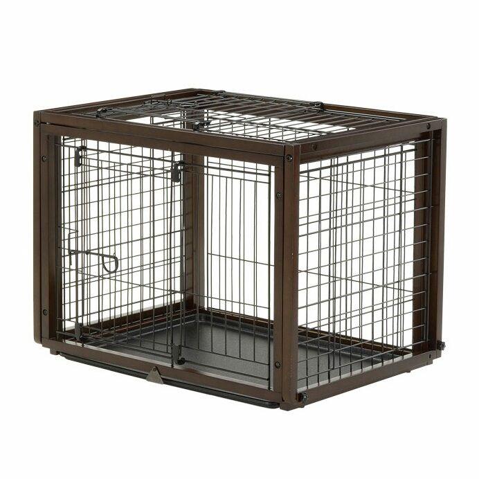 Flip to Play Pet Crate Size: Medium